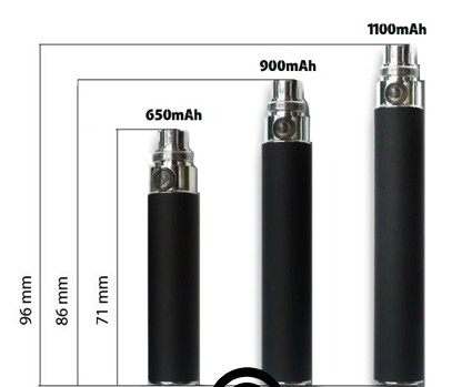 Ego Battery Comparison